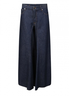 IMPORT BRAND COLLECTION - 【MM6 MAISON MARGIELA】Palazzo Jeans Blue