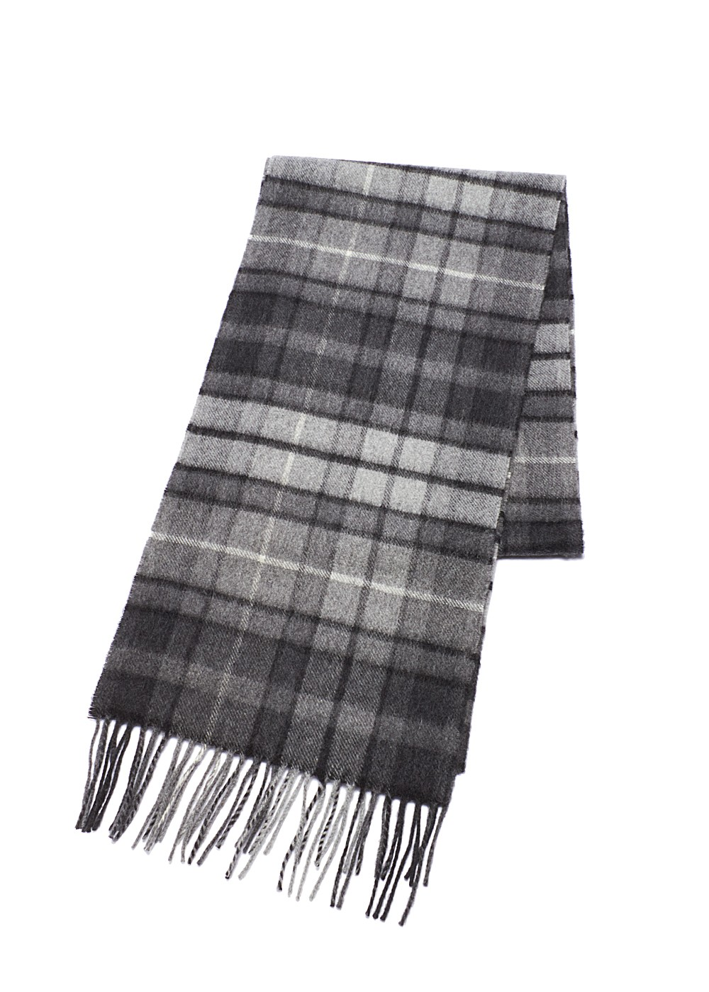 Tartan マフラー|Grey Buchanan|ストール|Johnstons(I)|最大46%OFF