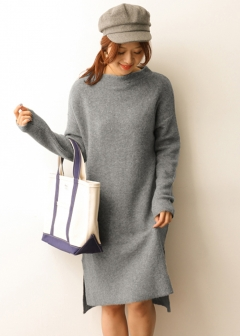 URBAN RESEARCH warehouse - Tops & Onepiece - ボトルネックルーズワンピース