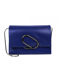IMPORT BRAND COLLECTION - 【3.1 Phillip Lim】ALIX SOFT FLAP CLUTCH ショルダーでも使える♪ レザーフラップ クラッチバッグ