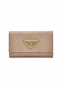 PRADA - Wallet Collection - - SAFFIANO TRIANGOLO / キーケース 【CAMEO】