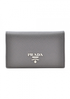 PRADA - Wallet Collection - - SAFFIANO METAL ORO / カードケース 【MARMO】