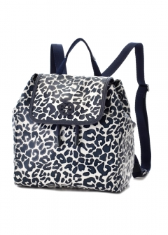 Tory Burch - リュック バックパック / SCOUT PRINTED NYLON SMALL BACKPACK 【LARGE CLOUDED LEOPARD】