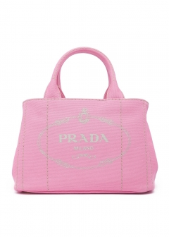 【PRADA】CANAPA PICCOLA INTERNO CONTRASTO / 2WAY BAG 【GERANIO】