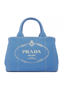 【PRADA】CANAPA PICCOLA INTERNO CONTRASTO / 2WAY BAG 【MARE】