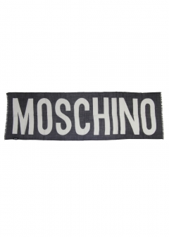 IMPORT BRAND COLLECTION - 【MOSCHINO】ビッグロゴストール