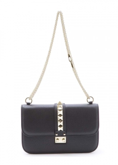 VALENTINO - BAG SPALLA MEDIUM LOCK BK