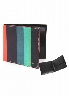 IMPORT BRAND COLLECTION - 【Paul Smith】二つ折り 小銭入れ付き財布Billfold with Coin