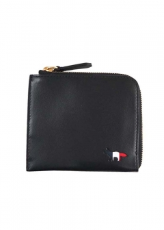 TRICOLOR COIN PURSE LEATHER