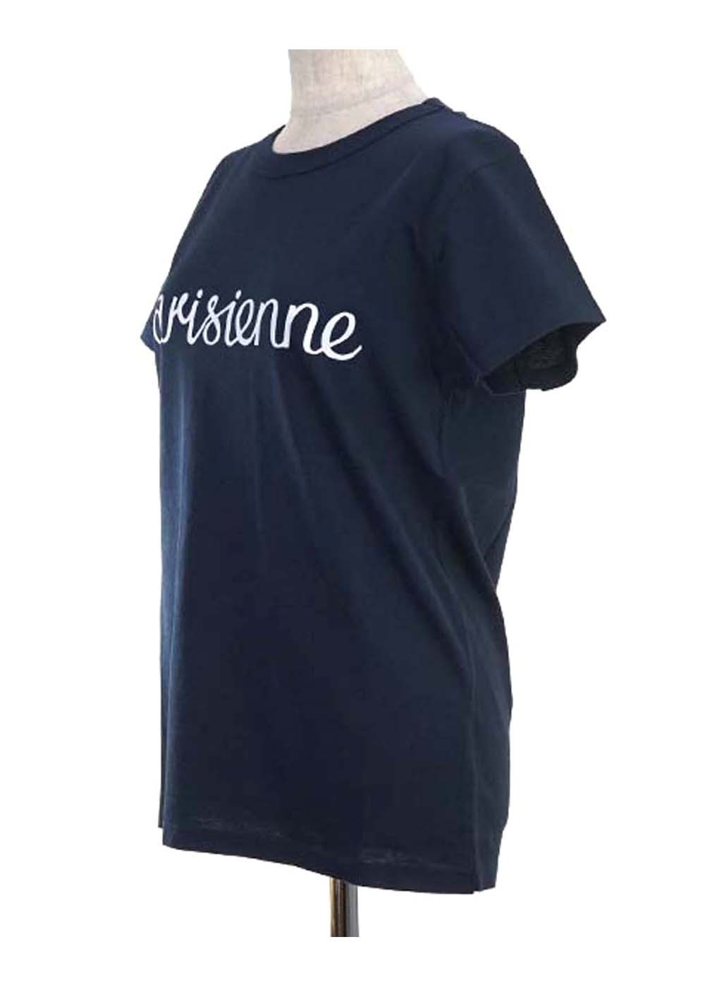 【最大35%OFF】TEE SHIRT PARISIENNE|NAVY|Tシャツ|MAISON KITSUNE