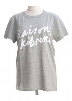 MAISON KITSUNE - TEE-SHIRT HANDWRITING