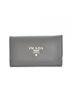 PRADA - Wallet Collection - - キーケース / SAF.METAL ORO 【MARMO】