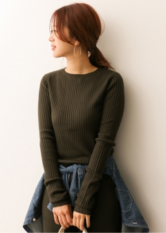URBAN RESEARCH warehouse - Tops & Onepiece - リブニットプルオーバー