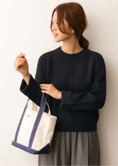 URBAN RESEARCH warehouse - Tops & Onepiece - 畦編みクルーネックニット