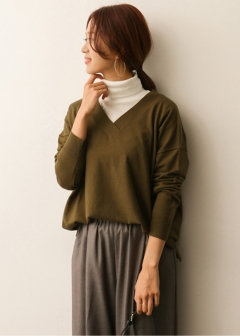 URBAN RESEARCH warehouse - Tops & Onepiece - Vネックワイドプルオーバー