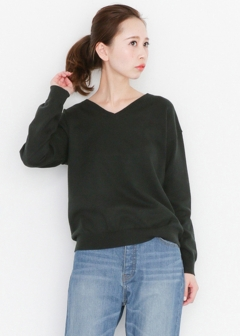 URBAN RESEARCH warehouse - Tops & Onepiece - ベーシックVネックニット