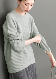 URBAN RESEARCH warehouse - Tops & Onepiece - バックサテンニット