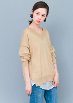 URBAN RESEARCH warehouse - Tops & Onepiece - VネックWIDEニット