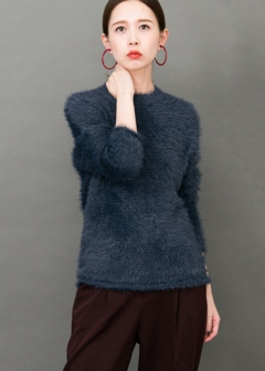 URBAN RESEARCH warehouse - Tops & Onepiece - WEB限定 フェザークルーニット