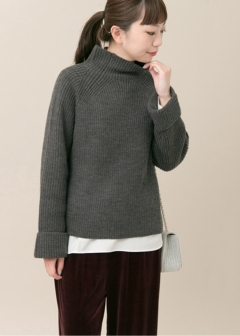 URBAN RESEARCH warehouse - Tops & Onepiece - KBF+ ワイドスリーブゆるニット