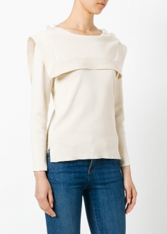 LUXURY BRAND BUYING SELECT - 【Chloe】COTTON TOP(海外買付のため約3~4週間後のお届けです)