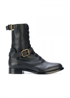 LUXURY BRAND BUYING SELECT - 【Chloe】【'17秋冬新作】OTTO BOOTS WITH BUCKLES(海外買付のため約3~4週間後のお届けです)