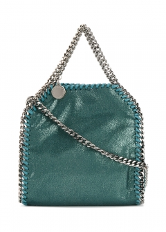 LUXURY BRAND BUYING SELECT - 【STELLA McCARTNEY】FALABELLA TINY SHOULDER BAG WITH CHAIN(海外買付のため約3~4週間後のお届けです)