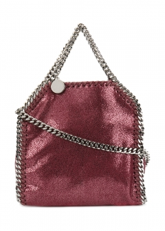 LUXURY BRAND BUYING SELECT - STELLA McCARTNEY - - 【STELLA McCARTNEY】FALABELLA TINY SHOULDER BAG WITH CHAIN(海外買付のため約3~4週間後のお届けです)