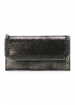 LUXURY BRAND BUYING SELECT - 【STELLA McCARTNEY】【'17秋冬新作】CONTINENTAL FALABELLA WALLET(海外買付のため約3~4週間後のお届けです)