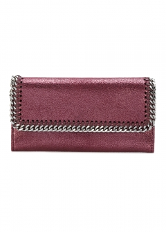 LUXURY BRAND BUYING SELECT - 【STELLA McCARTNEY】【'17秋冬新作】FALABELLA CONTINENTAL WALLET(海外買付のため約3~4週間後のお届けです)