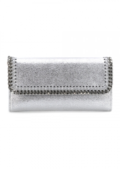 LUXURY BRAND BUYING SELECT - STELLA McCARTNEY - - 【STELLA McCARTNEY】FALABELLA CONTINENTAL WALLET(海外買付のため約3~4週間後のお届けです)