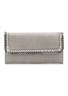 LUXURY BRAND BUYING SELECT - 【STELLA McCARTNEY】FALABELLA CONTINENTAL FLAP WALLET(海外買付のため約3~4週間後のお届けです)