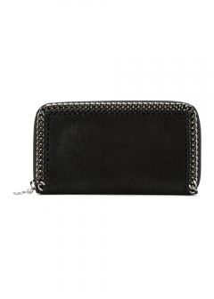 LUXURY BRAND BUYING SELECT - 【STELLA McCARTNEY】FALABELLA ZIPAROUND WALLET(海外買付のため約3~4週間後のお届けです)