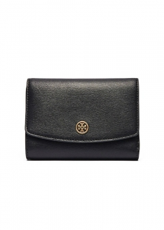 Tory Burch - 三つ折り財布 / PARKER MEDIUM FLAP WALLET 【BLACK】