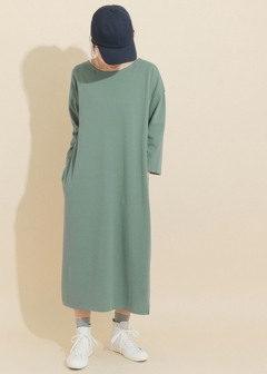 URBAN RESEARCH warehouse - Tops & Onepiece - FORK&SPOON Boat Neck Dress