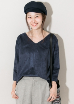 URBAN RESEARCH warehouse - Tops & Onepiece - フェイクスエードトップス