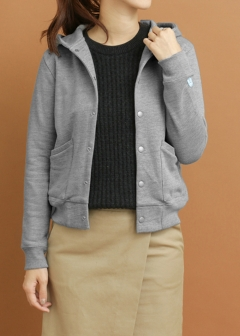URBAN RESEARCH warehouse - Tops & Onepiece - FORK&SPOON Fleece Lining Dot Parker