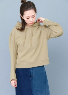 URBAN RESEARCH warehouse - Tops & Onepiece - 変形スリーブパーカー