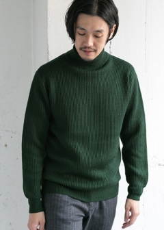 URBAN RESEARCH warehouse - mens - 両畦タートル Knit