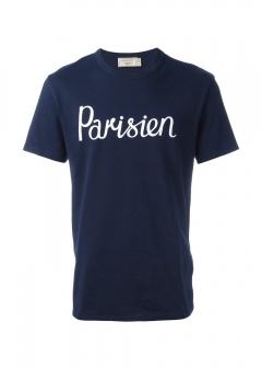 IMPORT BRAND COLLECTION - 【MAISON KITSUNE】TEE SHIRT PARISIENE パリジャン Tee