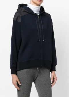 LUXURY BRAND BUYING SELECT - 【MONCLER】【'17秋冬新作】KNITTED HOODIE(海外買付のため約3~4週間後のお届けです)