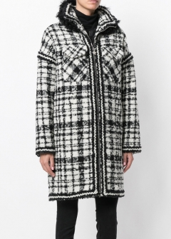 LUXURY BRAND BUYING SELECT - 【MONCLER GAMME ROUGE】【'17秋冬新作】TWEED COAT(海外買付のため約3~4週間後のお届けです)