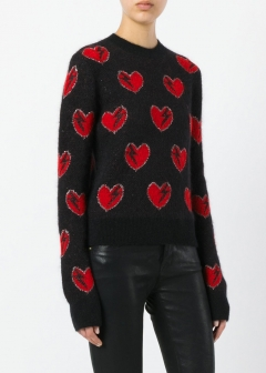 LUXURY BRAND BUYING SELECT - 【SAINT LAURENT】【'17秋冬新作】MOHAIR-BLEND SWEATER(海外買付のため約3~4週間後のお届けです)