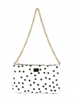 LUXURY BRAND BUYING SELECT - 【Dolce & Gabbana】POCHETTE POIS(海外買付のため約3~4週間後のお届けです)