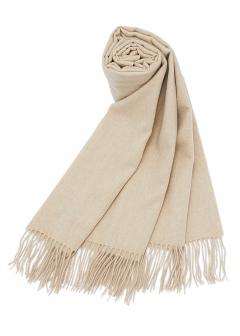 NATURAL UNDYED STOLE