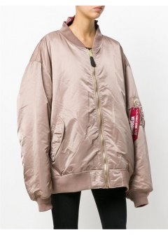 LUXURY BRAND BUYING SELECT - 【VETEMENTS】X ALPHA INDUSTRIES REVERSIBLE BOMBER JACKET(海外買付のため約3~4週間後のお届けです)