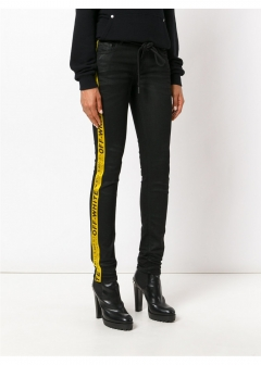 LUXURY BRAND BUYING SELECT - 【OFF-WHITE】【'17秋冬新作】5 POCKETS SKINNY JEANS(海外買付のため約3~4週間後のお届けです)