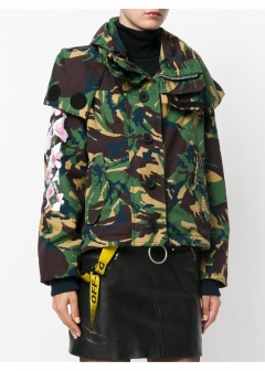 LUXURY BRAND BUYING SELECT - 【OFF-WHITE】【'17秋冬新作】ALL OVER CAMOUFLAGE PRINTED JACKET(海外買付のため約3~4週間後のお届けです)