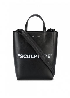LUXURY BRAND BUYING SELECT - 【OFF-WHITE】【'17秋冬新作】LEATHER TOTE BAG(海外買付のため約3~4週間後のお届けです)