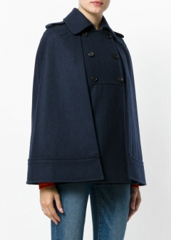 LUXURY BRAND BUYING SELECT - VALENTINO -  - 【VALENTINO】【'17秋冬新作】WOLL BLEND CAPE(海外買付のため約3~4週間後のお届けです)